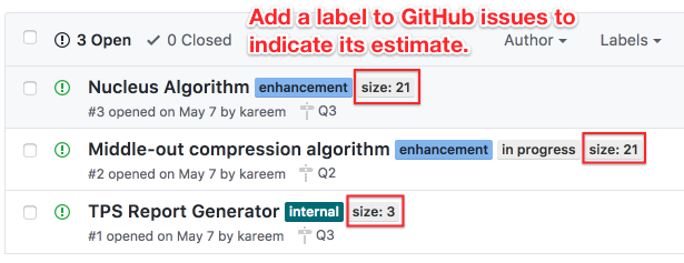 001 tag issues with size github issues